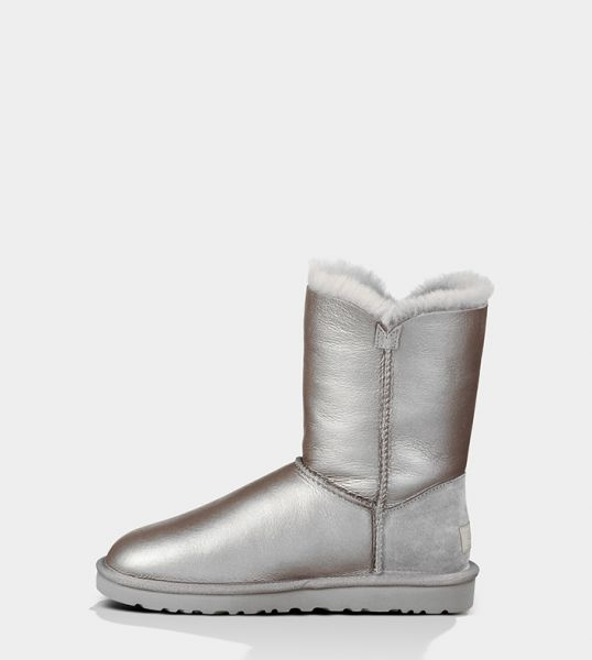 UGG Bailey Button Metallic新款女士金属色纽扣雪地靴1004880